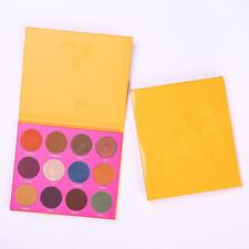 12 Colors Shimmer Eye Shadow Eyeshadow Palette Makeup Powder Flexibility Lasting