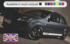 Ford Fiesta ZETEC S side stripes HIGH OEM QUALITY VINYL FITS 3 AND 5 DOOR