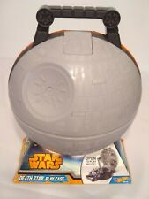 Brand New Hot Wheels Star Wars Death Star Play Storage Case Holds 10 Starships