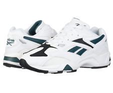 Reebok Men's AZTREK 96 Sneaker | White/Rapid Teal/Black | 12.5 M US