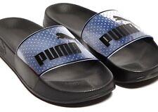 bac228ca75c PUMA Women s LEADCAT JELLY Sandals POOL SLIDES Black Sz 6.5 364533-01 NEW  IN BOX