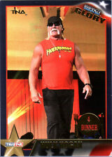 TNA Hulk Hogan #109 2013 Impact Wrestling GLORY GOLD Short Print Card DWC