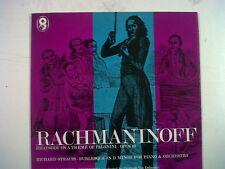 Lp Rachmaninov Rapsodia tema de Paganini op 43 T 459