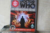 Doctor Who - The Armageddon Factor (2 Disco Edición Especial ) VG Estado! Dr.