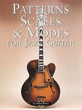 Patterns Scales & Modes for Jazz Guitar - Book NEW 014025163