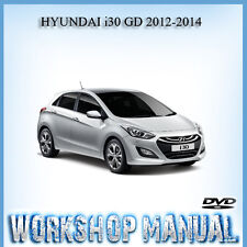 HYUNDAI i30 GD 2012-2014 WORKSHOP REPAIR SERVICE MANUAL IN DISC