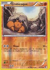 Crabicoque Reverse-N&B- Frontieres Franchies - 84/149-Carte Pokemon Neuve France