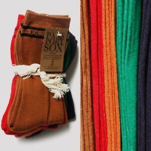 PASS~PORT Socks 5 Pack Hi Rainbow Pass Port Pass-Port Passport Sox