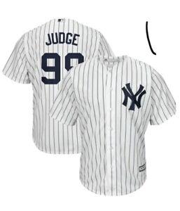 Men's New York Yankees Aaron Judge Home Cool Base Jersey Medium #99