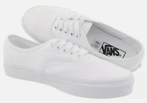 Vans Authentic Casual Mens Shoe Size 10 True White