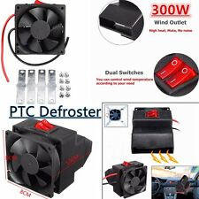 300W Car Portable Adjustable Rapid Heater Heating Cooling Fan Defroster Demister