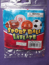 """New Inflatable White Plastic 16"""" Soccer Team Beach Pool Party Ball LAST One!"""