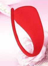 C-string c string invisible en tissu rouge SEXY burlesque pinup cabaret