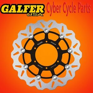 Galfer Front Floating Wave Rotor For 2001-2006 Honda CBR 600 F4I DF063CW