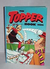 "VTG COMIC BOOK ANNUAL ""THE TOPPER BOOK 1986"" – 31 YEARS OLD!!! TOP BIRTHDAY GIFT"