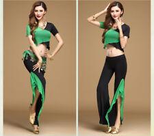 New Arrival Belly Dance Costumes 3Pcs Top Pants Belt S M L XL