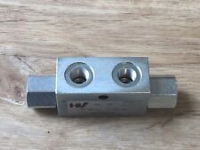 """Sperrventil Sperrblock hydraulisch entsperrbares Rückschlagventil G1/4"""" BSP-20L"""