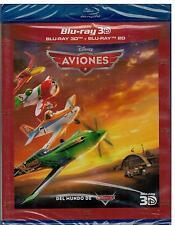 Aviones (Disney) (Combo Bluray 3D +2D Nuevo)