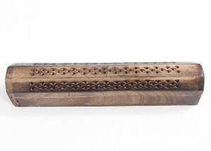 Incense Vintage Wooden Stick Holder Storage Boxes