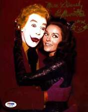 Lee Meriwether Catwoman Psa/dna Hand Signed 8x10 Photo Authentic Autograph