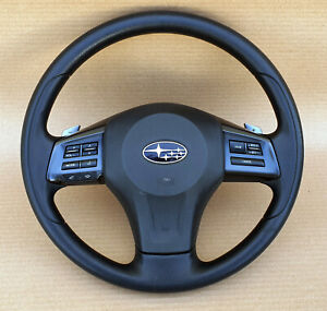 Subaru XV, Forester, Crosstrek, 2014-2016 Steering Wheel Oem jdm used