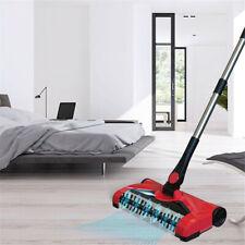 Stick Sweeper Broom Swivel Sweep Cordless Hard Floor Cleaner With Microfiber Mop