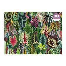 Galison Houseplant Jungle 1000 Piece Jigsaw Puzzle + Plant Identification! NEW!