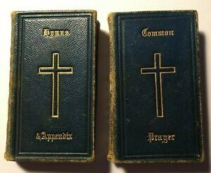 Antique Miniature Common Prayer & Hymns 1869