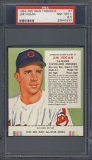 1955 Red Man Tobacco #7 Jim Hegan PSA 8.5 Cleveland Indians
