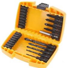 DEWALT 26 PIECE EXTREME IMPACT DRILLl & SCREWDRIVING BIT SET DT70502B NEW