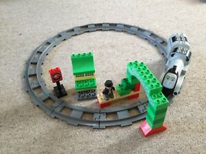Lego Duplo Thomas The Tank Engine 3353 SPENCER AND SIR TOPHAM HATT Complete Set