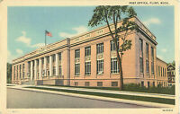 Postcard Post Office, Flint, MI