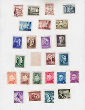 slovakia 1943/4 five sets MNH (one copy MH)        q260