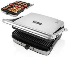 Contact Grill Paninigrill Grill de table grill électrique Sandwich Grille-pain gril