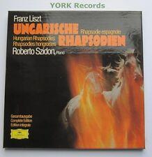 DG 2720 072 - LISZT - Ungarische Rhapsodien SZIDON - Ex Con 3 LP Record Box Set