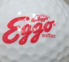 (1) Eggo Waffles Kelloggs Logo Golf Ball