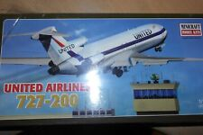 MINICRAFT 1:144 BOEING 727-200 UNITED AIRLINES   14465