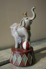 Clayre & Eef Sweet Elephant M. Tutu Crown Ball Circus Small Can 17cm New