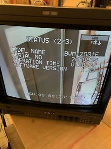 Sony Monitor BVM-20G1E