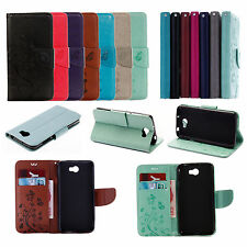 MT For Various Phone Emboss New Butterfly Strap Wallet Card Leather Case Cover