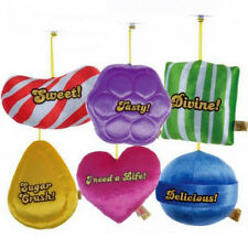 """6"""" CANDY CRUSH PLUSH STICK ON SOFT COMFY COSY KIDS TOY GAME HANGING SUCTION PAD"""