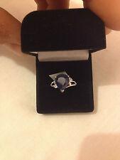 Diffusion Natural Sapphire Fine Rings