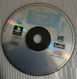 Ps1 Game, Tiggers Honey Hunt (Sony PlayStation 1) One