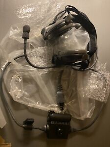 New! Bose TriPort Tactical Military Communication Headset Army W Mic