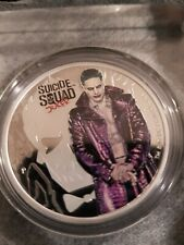 1oz .9999 solid Silver Perth Mint Suicide Squad 'The Joker'
