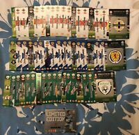 PANINI ADRENALYN XL EURO 2020 FULL SET OF ALL 54 UK EXCLUSIVE CARDS + LIMITED