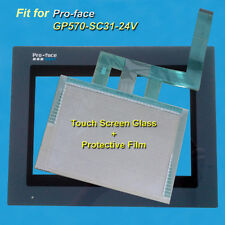 for Pro-face GP570-SC31-24V Touch Screen Glass + Protective Film