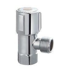 Kinetic MINI CISTERN COCK 15mm DR Brass Chrome Plated, 1/4 Turn Ceramic Disc