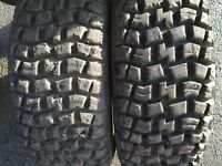 2x 185 60 14 INDY SPORT SG42 RALLY CAR OFFROAD TYRES 185/60 R14 82Q M+S