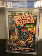 MARVEL SPOTLIGHT #5 • CGC 7.5 • 1ST GHOST RIDER/JOHNNY BLAZE